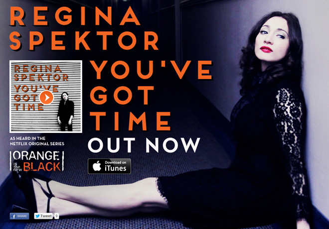 Netflix - Regina Spektor - You've Got The Time - OITNB