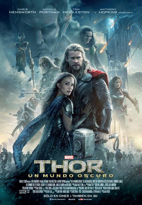 Afiche - Thor - Un Mundo Oscuro