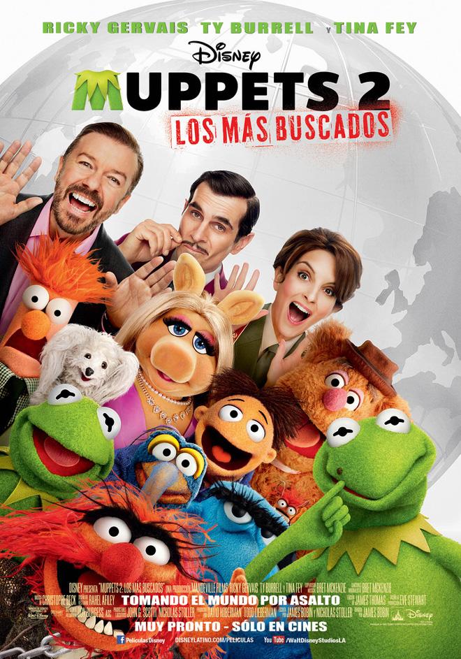 Afiche - Los Muppets 2 - Los Mas Buscados