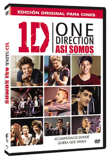 Blu Shine - One Direction - Asi Somos