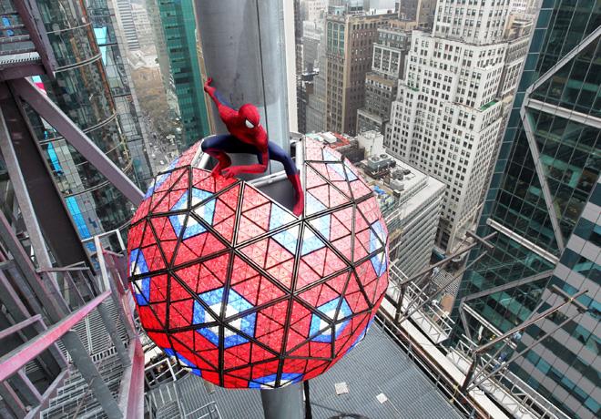 UIP - El Hombre Araña Fin de Año en Times Square