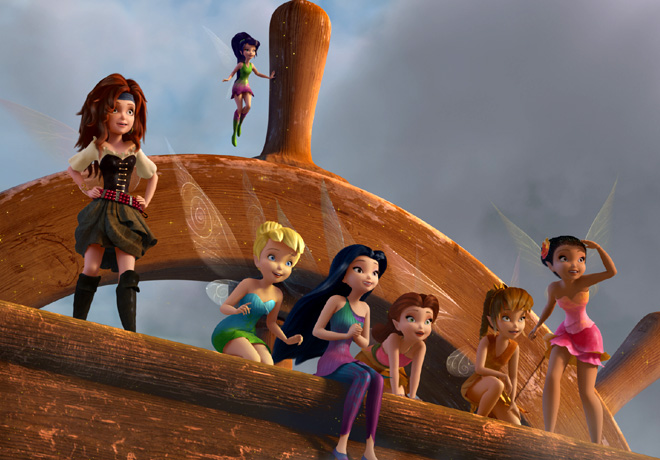 Tinker Bell - Hadas y Piratas