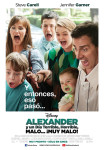 Afiche - Alexander y un Dia Terrible Horrible Malo Muy Malo