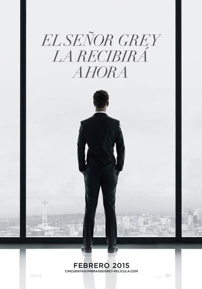 Afiche - 50 Sombras de Grey