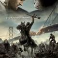 Afiche - El Planeta de los Simios - Confrontacion