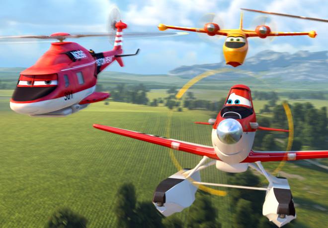 Aviones 2 - Equipo de Rescate