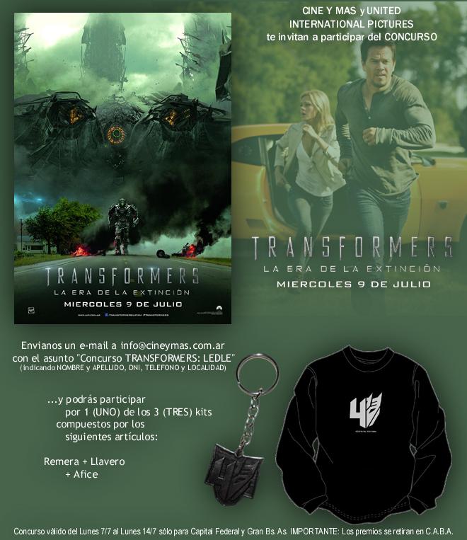 Concurso Transformers LEDLE