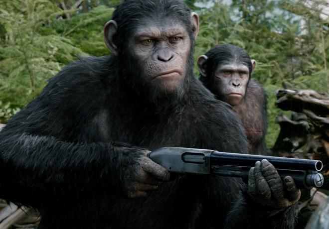 El Planeta de los Simios - Confrontacion 1