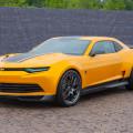 GM - Transformers - El Camaro se convirtio en el iconico Bumblebee y regresó a la pantalla grande en Transformers 4