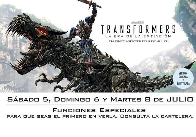 UIP - Tranformers LEDLE - Funciones Especiales