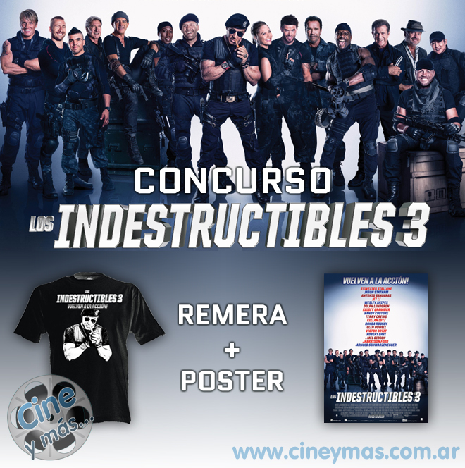 Concurso Los Indestructibles