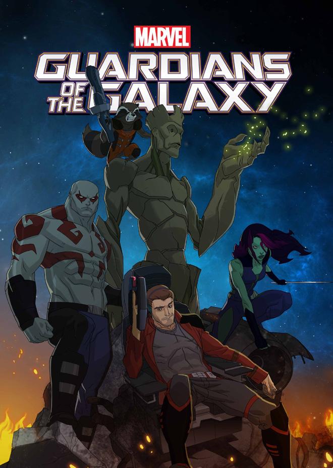 Disney XD - Guardianes de la Galaxia Serie Animada