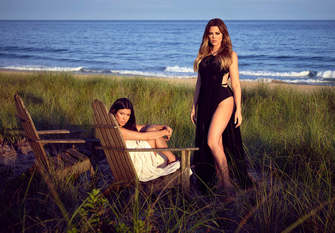 E - Kourtney And Khloé Take The Hamptons