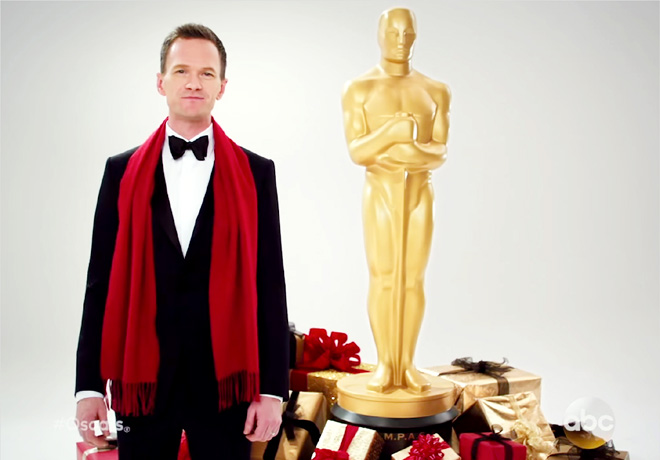 AMPAS - Neil Patrick Harris - Promo Oscars
