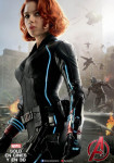 Afiche - Avengers - Era de Ultron - Black Widow