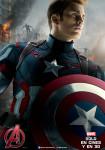 Afiche - Avengers - Era de Ultron - Capitan America