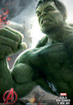 Afiche - Avengers - Era de Ultron - Hulk