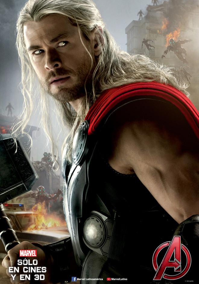 Afiche - Avengers - Era de Ultron - Thor-