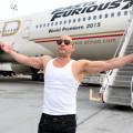UIP - Vin Diesel - Avion Rapidos y Furiosos 777 1