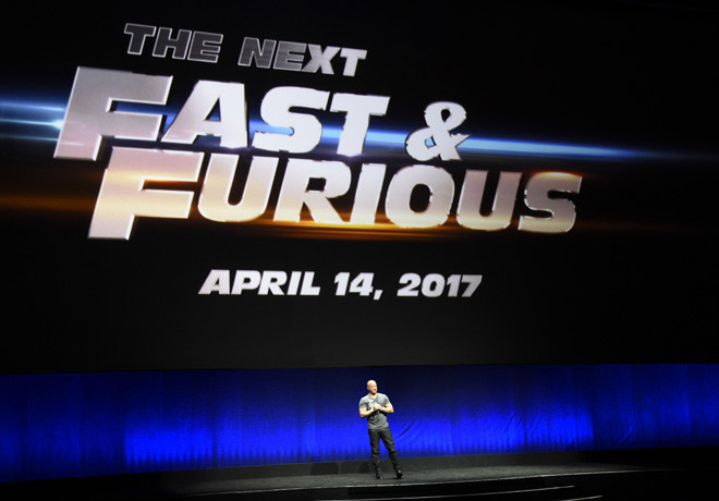 Rapidos y Furiosos 8 - Fast And Furious 8 - Vin Diesel - Cinemacon 1