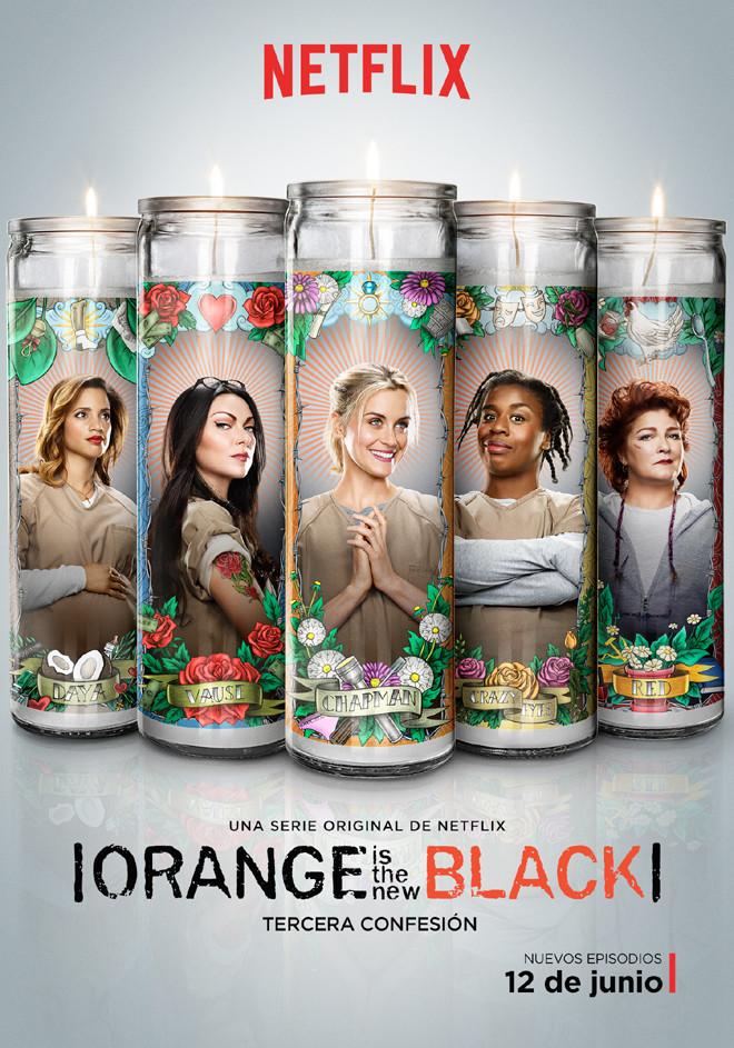 Netflix - OITNB - Temporada 3 - Afiche