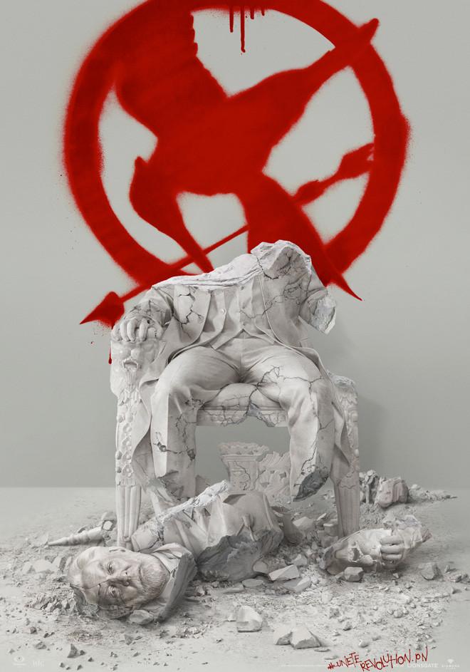 Afiche - Teaser - Sinsajo Parte 2