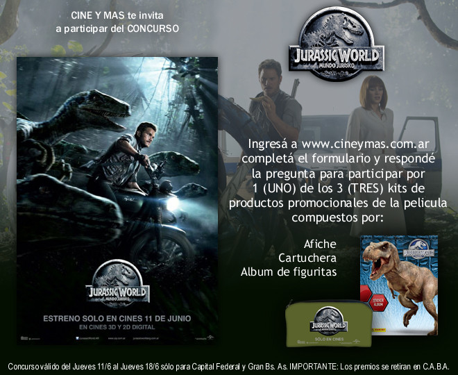 Concurso Jurassic World