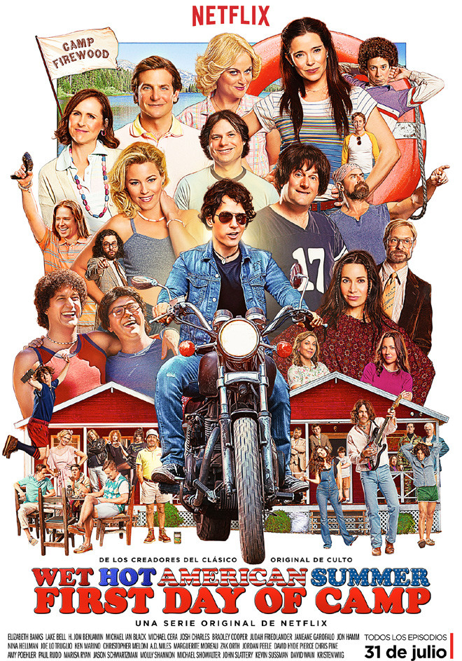Netflix - Wet Hot American Summer - First Day of Camp