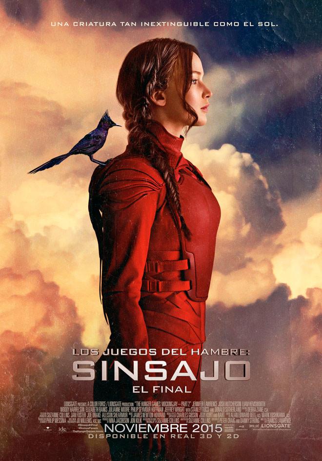 Afiche - Sinsajo - El Final