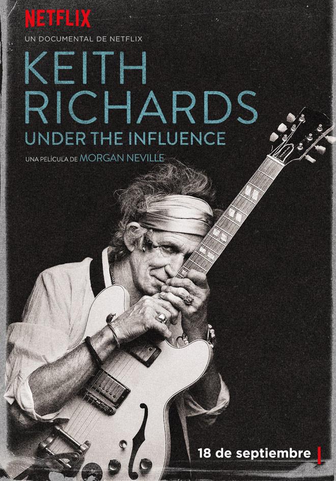 Netflix - Keith Richards - Under the Influence