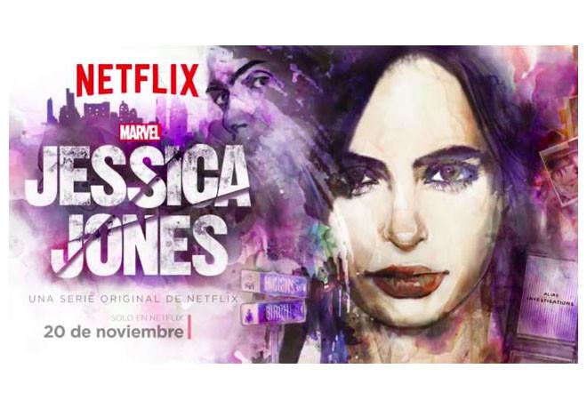 Netflix - Jessica Jones - Arte de Tapa