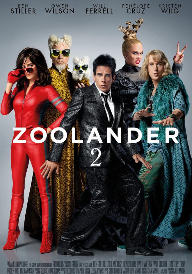 Afiche - Zoolander 2