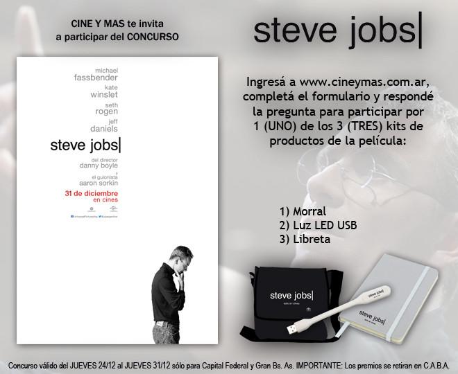 Concurso Steve Jobs