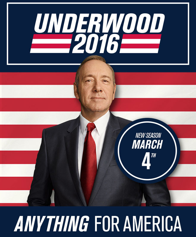 Netflix - House of Cards - Frank Underwood