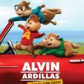 Afiche - Alvin y las Ardillas - Aventura Sobre Ruedas