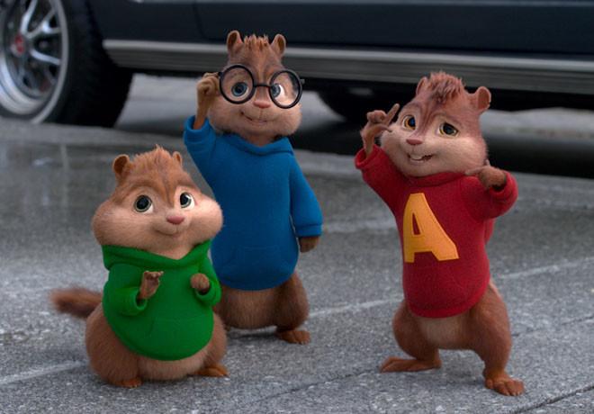 Alvin y las Ardillas - Aventura Sobre Ruedas 1