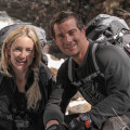 Discovery Channel - Salvajemente Famosos - Bear Grylls - Kate Hudson
