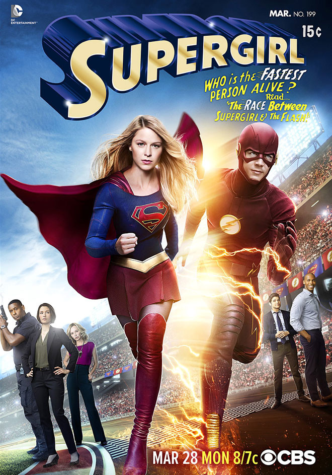 CBS - Supergirl - The Flash - Crossover