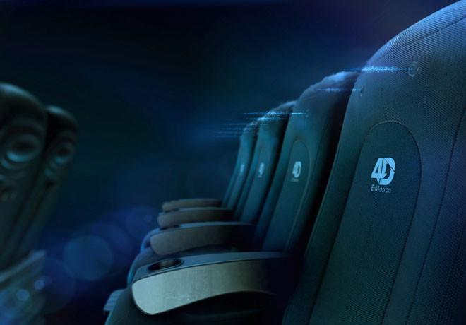 Multiplex - Sala Cine 4D