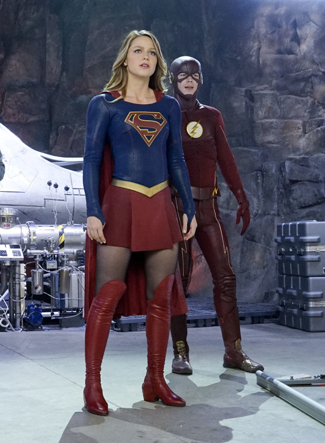 Warner Channel - Crossover Supergirl - The Flash 1