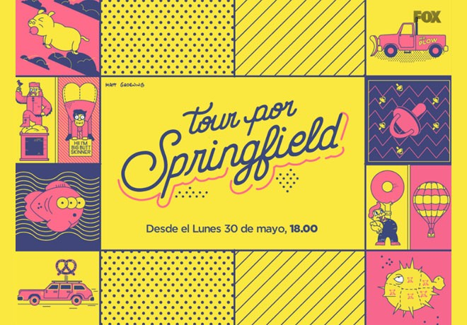 FOX - Tour por Springfield 1