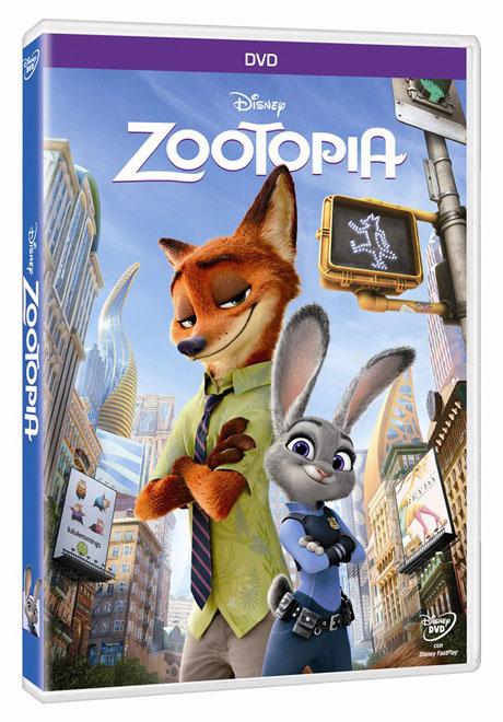 Blu Shine - WDSHE - Zootopia - DVD