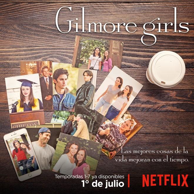 Ntflix - Gilmore Firls - Temporada 1-7