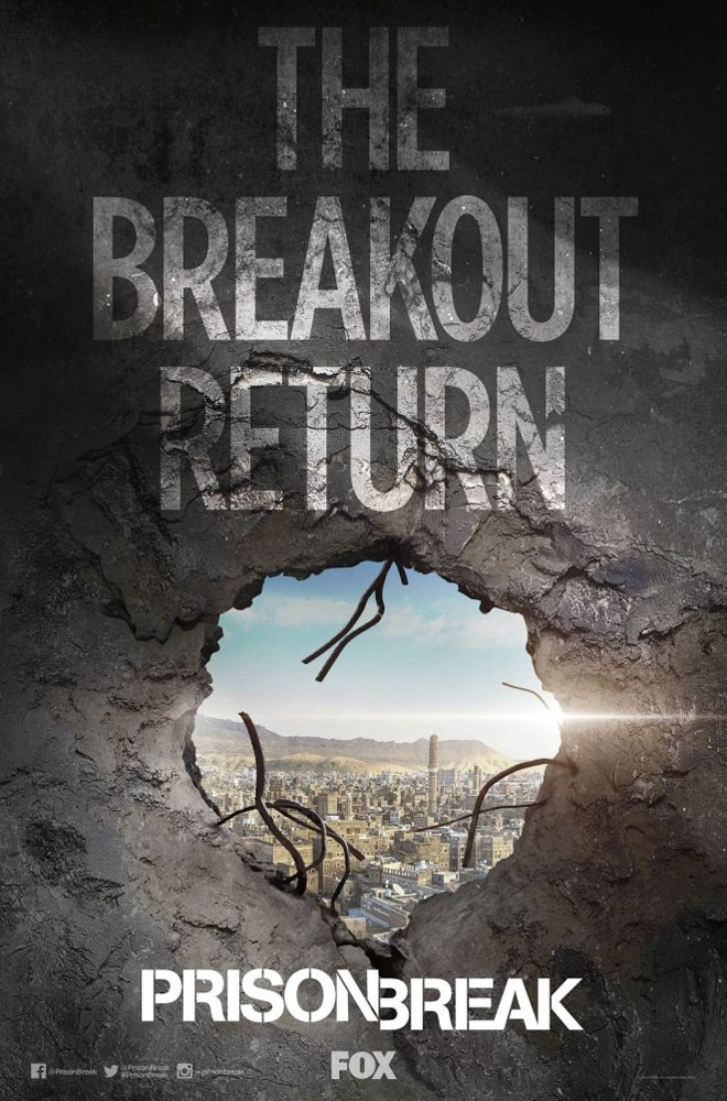 FOX - Prison Break - Sequel Poster