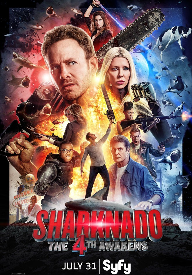 Syfy - Sharknado 4 - The 4th Awakens
