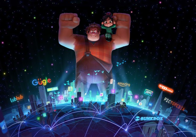 Walt Disney Animation - Ralph El Demoledor 2 - Wreck It Ralph 2