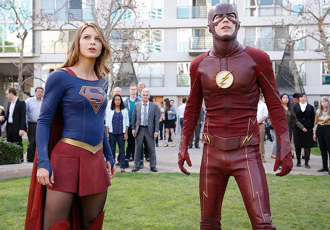 Supergirl - The Flash - Crossover Musical