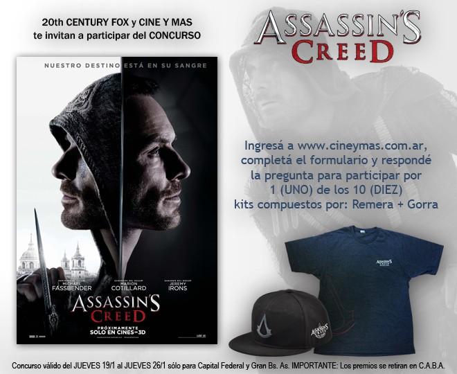 Concurso Assassins Creed