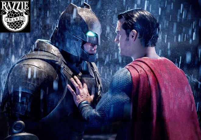 Razzie Awards - The Golden Raspberry Awards - Batman v Superman