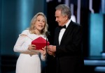 AMPAS - Premios Oscar - Academy Awards - Faye Dunaway - Warren Beatty